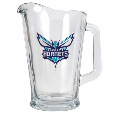 Charlotte Hornets 60 oz Glass Pitcher