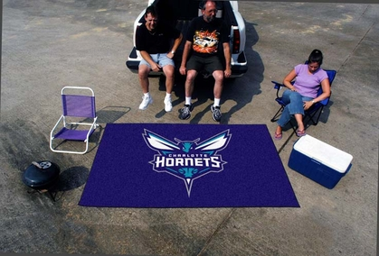 Charlotte Hornets Economy 5 Foot x 8 Foot Mat