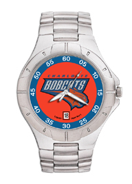 Charlotte Bobcats Pro II Men's Stainless Steel Watch