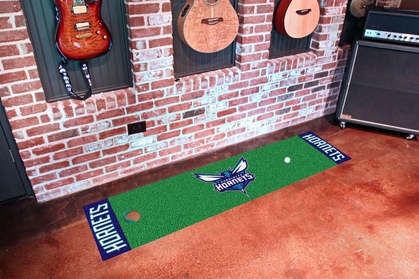 Charlotte Hornets Putting Green Mat