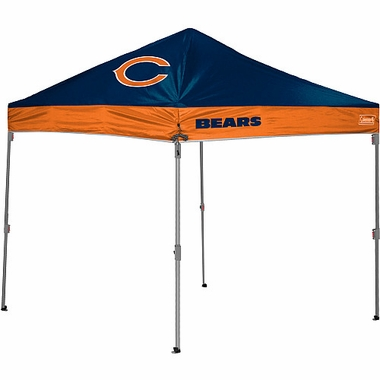 Chicago Bears 10 x 10 Straight Leg Shelter