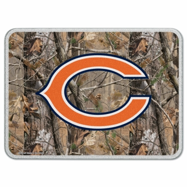 Chicago Bears 11 x 15 Glass Cutting Board (Realtree)