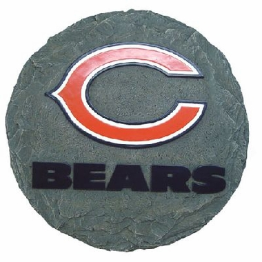 "Chicago Bears 13.5"" Stepping Stone"