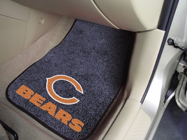 Chicago Bears 2 Piece Car Mats
