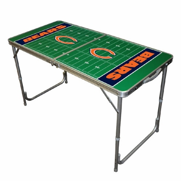 Chicago Bears 2 x 4 Foot Tailgate Table