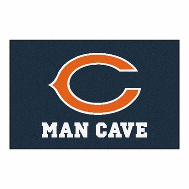 Chicago Bears 20 x 30 Man Cave Rug