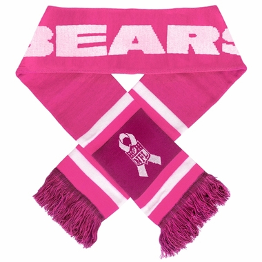 Chicago Bears 2012 NFL Breast Cancer Foundation Team Stripe Scarf
