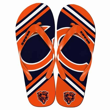 Chicago Bears 2013 Unisex Big Logo Flip Flops