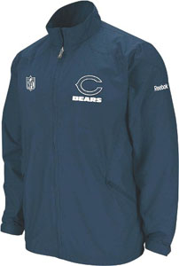 Chicago Bears 2nd Season Static Storm Lightweight Jacket - Medium