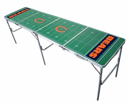 Chicago Bears 2x8 Tailgate Table