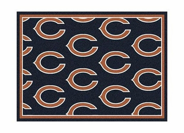 "Chicago Bears 3'10"" x 5'4"" Premium Pattern Rug"