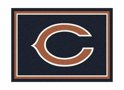 "Chicago Bears 3'10"" x 5'4"" Premium Spirit Rug"