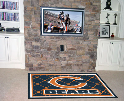 Chicago Bears 4 Foot x 6 Foot Rug