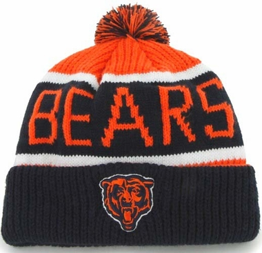 Chicago Bears 47 Brand NFL Calgary Cuffed Knit Hat