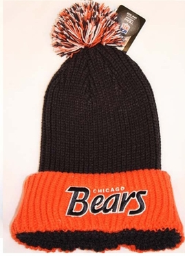 Chicago Bears 47 Brand NFL Stepback Cuffed Knit Hat