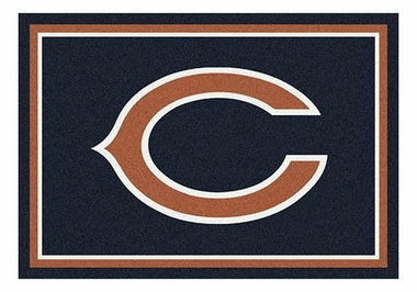 "Chicago Bears 5'4"" x 7'8"" Premium Spirit Rug"