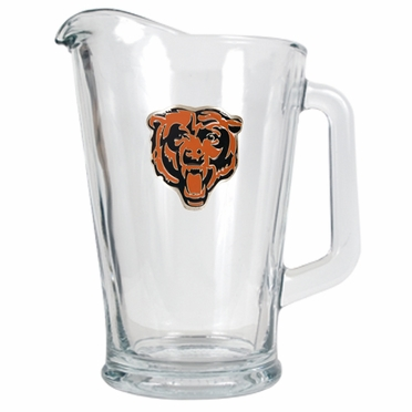 Chicago Bears 60 oz Glass Pitcher