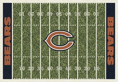 "Chicago Bears 7'8"" x 10'9"" Premium Field Rug"