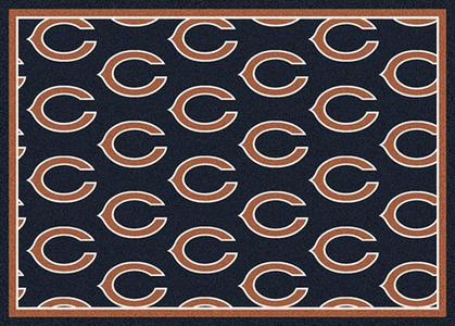 "Chicago Bears 7'8 x 10'9"" Premium Pattern Rug"