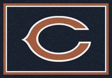 "Chicago Bears 7'8"" x 10'9"" Premium Spirit Rug"