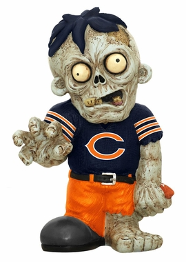 Chicago Bears 8.5 Inch Zombie Figurine