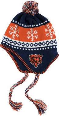 Chicago Bears Abomination Tassel Knit Hat