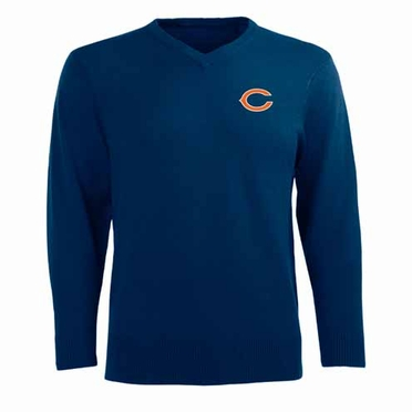Chicago Bears Mens Ambassador Sweater (Team Color: Navy)