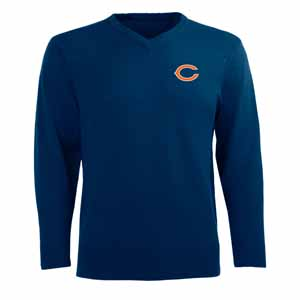Chicago Bears Mens Ambassador Sweater (Team Color: Navy) - Large