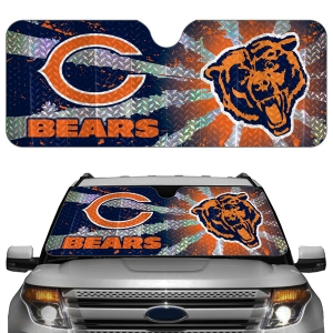 Chicago Bears Auto Sun Shade
