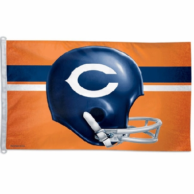Chicago Bears Big 3x5 Flag (Throwback)