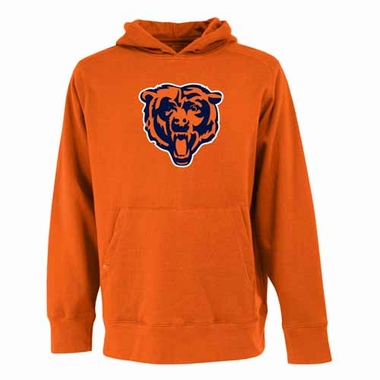 Chicago Bears Big Logo Mens Signature Hooded Sweatshirt (Alternate Color: Orange)