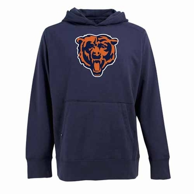 Chicago Bears Big Logo Mens Signature Hooded Sweatshirt (Team Color: Navy)