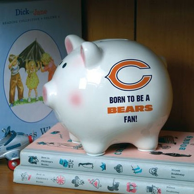 Chicago Bears (Born to Be) Piggy Bank