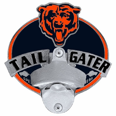 Chicago Bears Bottle Opener Hitch Cover
