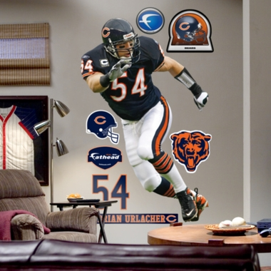 Chicago Bears Brian Urlacher Fathead Wall Graphic