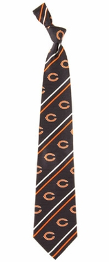 Chicago Bears Cambridge Woven Silk Necktie
