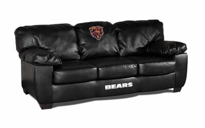 Chicago Bears Leather Classic Sofa