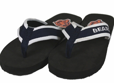 Chicago Bears Contoured Flip Flop Sandals