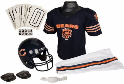 Chicago Bears Deluxe Youth Uniform Set