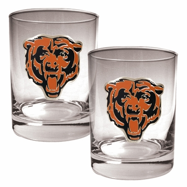 Chicago Bears Double Rocks Set