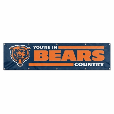 Chicago Bears Eight Foot Banner