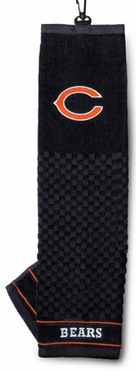 Chicago Bears Embroidered Golf Towel