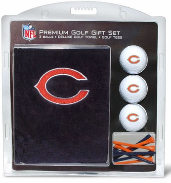 Chicago Bears Embroidered Towel Gift Set