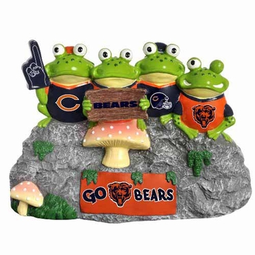 Chicago Bears Frog Fan Bench