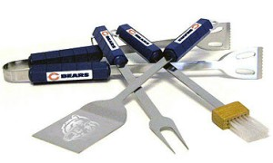 Chicago Bears Grill BBQ Utensil Set