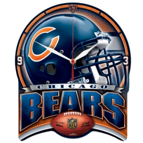 Chicago Bears High Definition Wall Clock