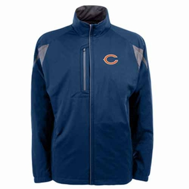 Chicago Bears Mens Highland Water Resistant Jacket (Team Color: Navy)
