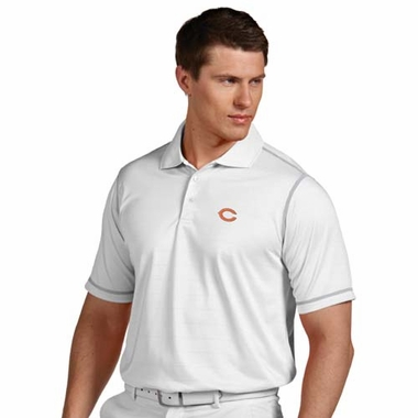 Chicago Bears Mens Icon Polo (Color: White)
