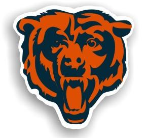 "Chicago Bears 12"" Logo Car Magnet"