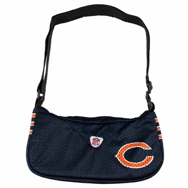 Chicago Bears Jersey Material Purse